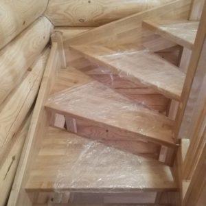 Березовые ступени для лестницы