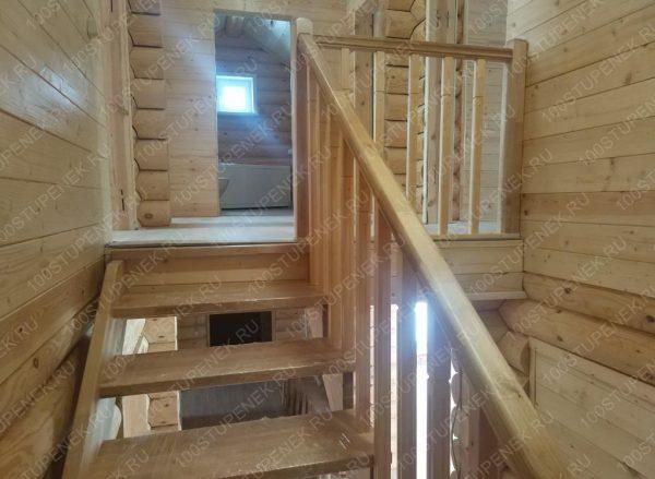 Березовая лестница