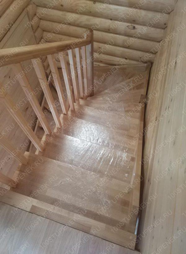 Лестница из березы на заказ