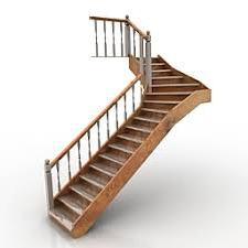 3D модель лестницы