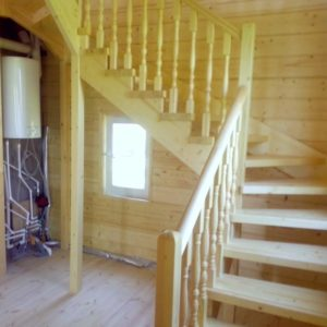 Сосновая лестница