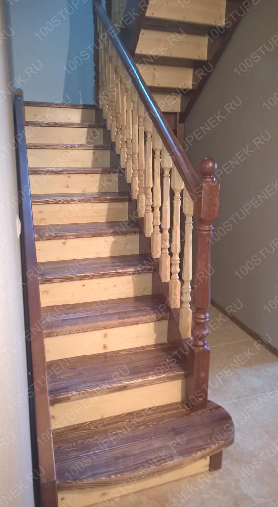 Лестница с площадкой на 180