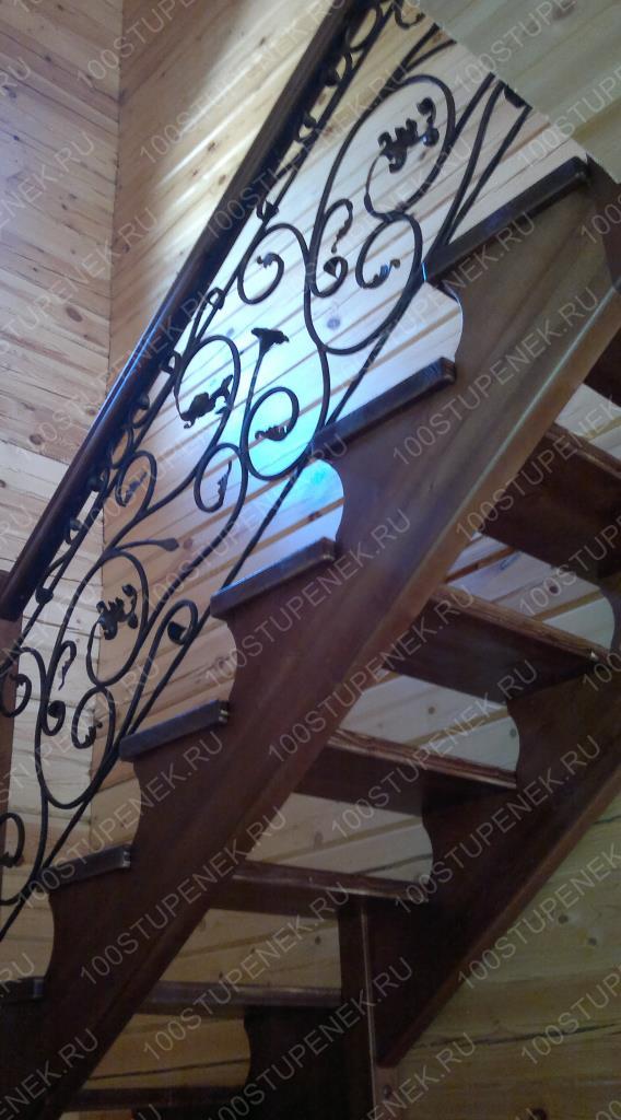 Лестница на заказ Романовский парк