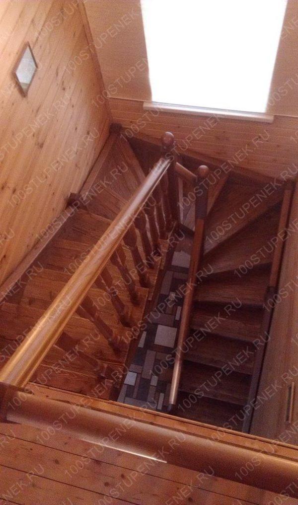 Заказать лестницу в дом Удачный