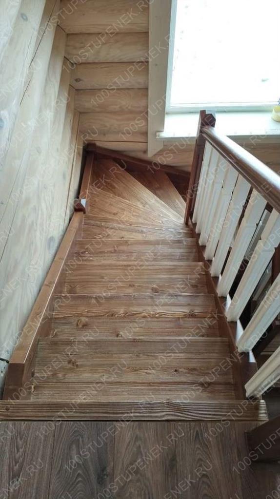 П-образная забежная лестница