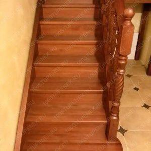 Лестница из сосны на заказ