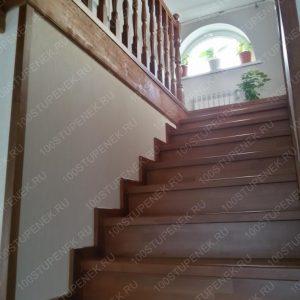 Лестница из бука на заказ