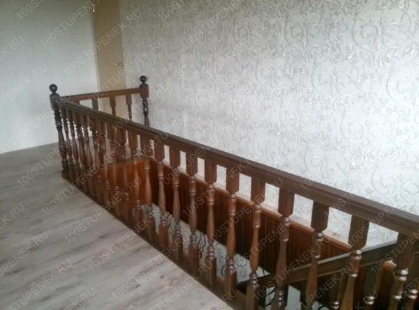 Перила лестницы на второй