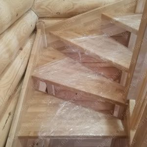 Лестница 180 из березы