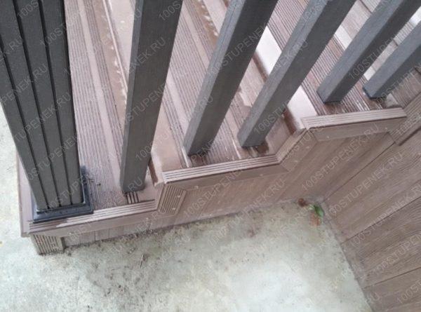 Металлопластиковая лестница