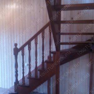Лестница Г-образная по технологии тетива-косоур