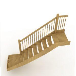 Проект лестницы в 3D