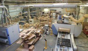 Производственные мощности для лестниц