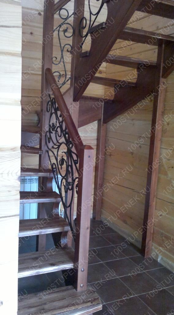 Забежная лестница 180