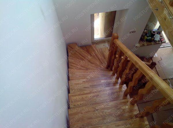 Г-образная лестница на заказ