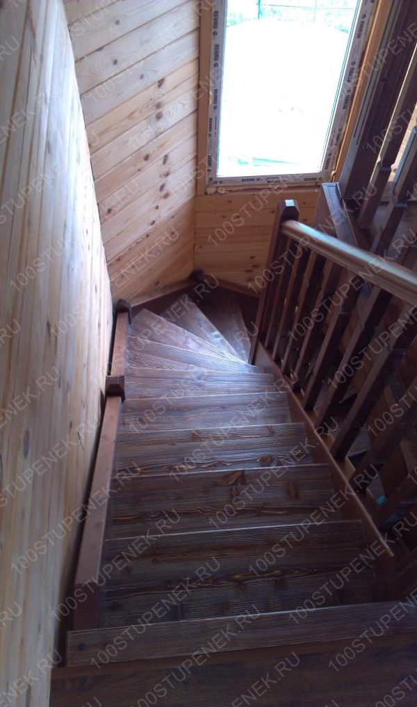 Готовый проект лестницы Волковское
