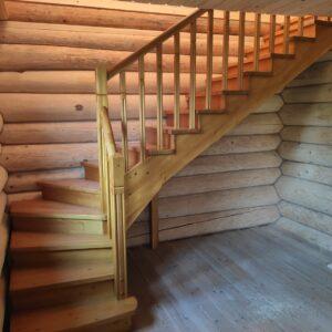 Лестница с первого на второй