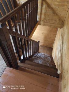 Лестница со второго