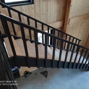 Прямая лестница нв второй