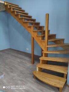 Заготовка лестницы
